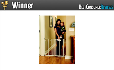 2015 Best Baby Safety Gate Reviews - Top Rated Baby Safety Gates